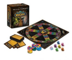WOW Trivial Pursuit Board Game Contents