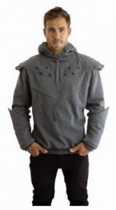 Hoodie Shaped Like Knight Armor