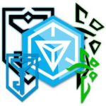 Ingress logo - enlightened and resistance