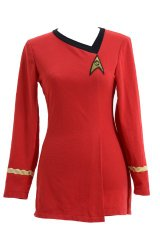 Halloween Costumes - Red Star Trek Uniform