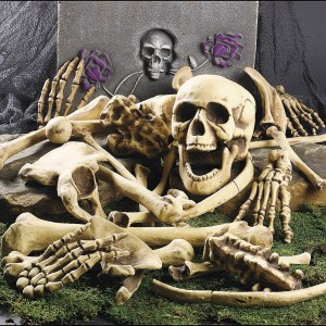 Halloween Decorations - Skeleton Bones