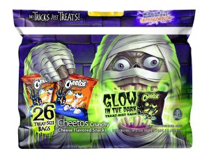 Halloween - Glow in the dark Cheetos