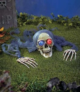 Halloween Decorations - Crawling Skeleton
