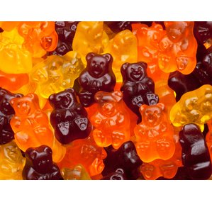 fall gummy bears Halloween Candy