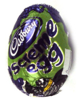 Cadbury screme egg Halloween Candy
