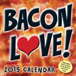 bacon love calendar