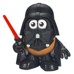 baby geek gift darth vader potato head
