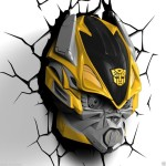 transformers bumblebee 3d night light