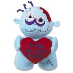 zombie plushie valentine