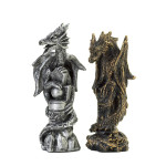 dragon chess set pieces
