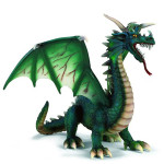 green forest dragon toy