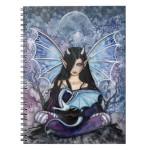 sapphire fairy dragon notebook