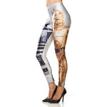 star wars r2d2 cp30 leggings