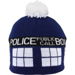 doctor who tardis beanie hat
