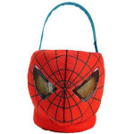 spiderman plush easter gift basket