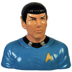 star trek spock cookie jar