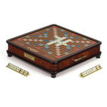 scrabble special edition wooden set