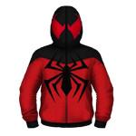 spiderman superhero hoodie
