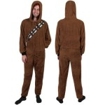 chewbacca star wars union suit pajamas