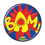 batman bam button