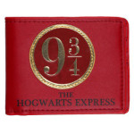 harry potter hogwarts express 9-3-4 bi-fold wallet