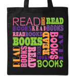 read books tote bag