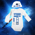 star wars r2-d2 onesie