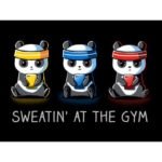 Sweatin At The Gym Pokemon Go T-shirt