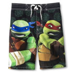 tmnt boys swim shorts