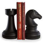 chess-bookends